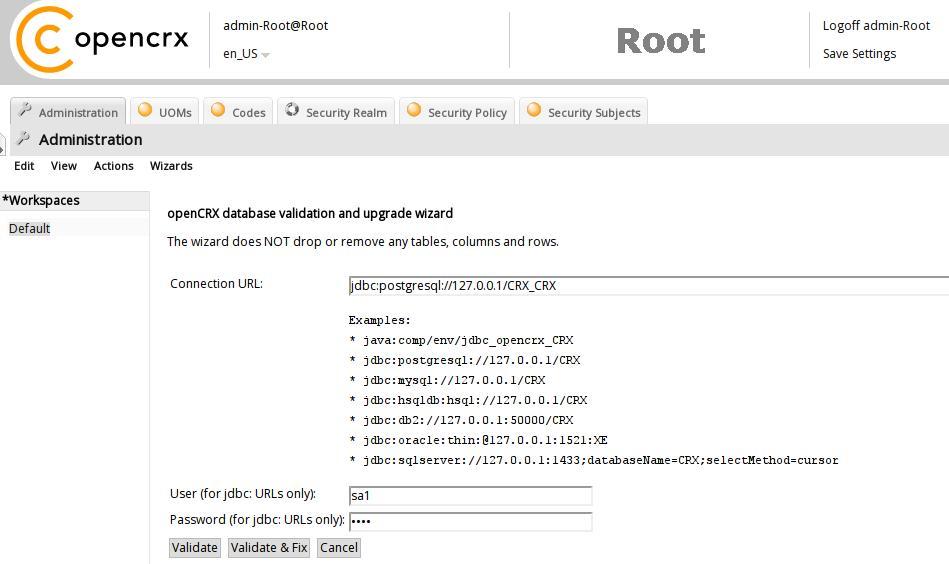 openCRX Installation Guide for PostgreSQL 9