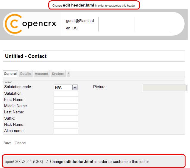 Opencrx V2 12 0 Basic Customizing Guide